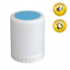 Светильник-bluetooth колонка Модерн 5-4948-WH+BL M LED