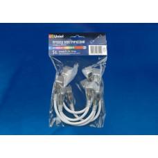 Коннектор (10832) Uniel UCX-SK4/B67-RGB Clear 005 Polybag