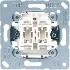Механизм выключателя 2-клавишного Jung 505U