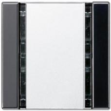 Пульт управления настенный плоский, 1 канал Jung A 500/A creation/A plus черный A41FSW
