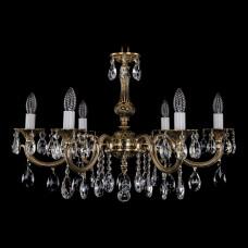 Подвесная люстра Bohemia Ivele Crystal 1702 1702/6/250/A/GB