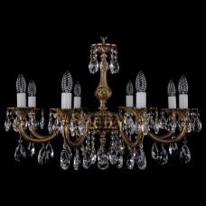 Подвесная люстра Bohemia Ivele Crystal 1702 1702/8/250/A/FP