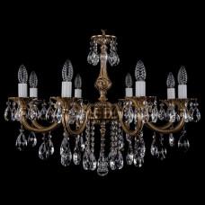 Подвесная люстра Bohemia Ivele Crystal 1702 1702/8/250/B/FP