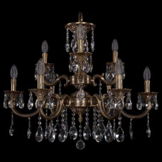 Подвесная люстра Bohemia Ivele Crystal 1722 1722/6+3/265/A/FP