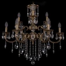 Подвесная люстра Bohemia Ivele Crystal 1722 1722/6+3/265/B/FP