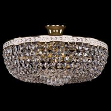 Люстра на штанге Bohemia Ivele Crystal 1928 1928/45/Z/GW