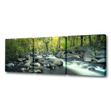 Набор из 3 панно (150х50 см) Каменистый ручей S-4120H Brilliant