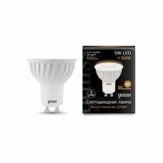 Лампа светодиодная Gauss 101506105 GU10 5Вт 3000K 101506105