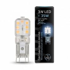 Лампа светодиодная Gauss 1074 G9 3Вт 4100K 107409203