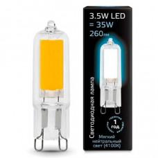 Лампа светодиодная Gauss 1078 G9 3.5Вт 4100K 107809203