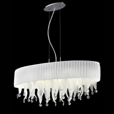 Светильник дизайнерский Crystal Lamp D1681-8WH