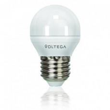 Лампа светодиодная диммируемая E27 6W 2800К шар матовый VG2-G2E27warm6W-D 5495